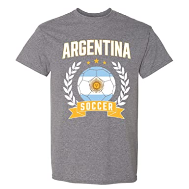 d77662a12 UGP Campus Apparel Argentina Soccer Laurel - 2018 World Football Cup T Shirt  - Small -