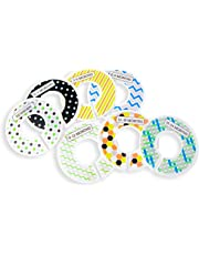 S&T 525601 Unisex Baby Closet Dividers for Clothes - Assorted, 7pk