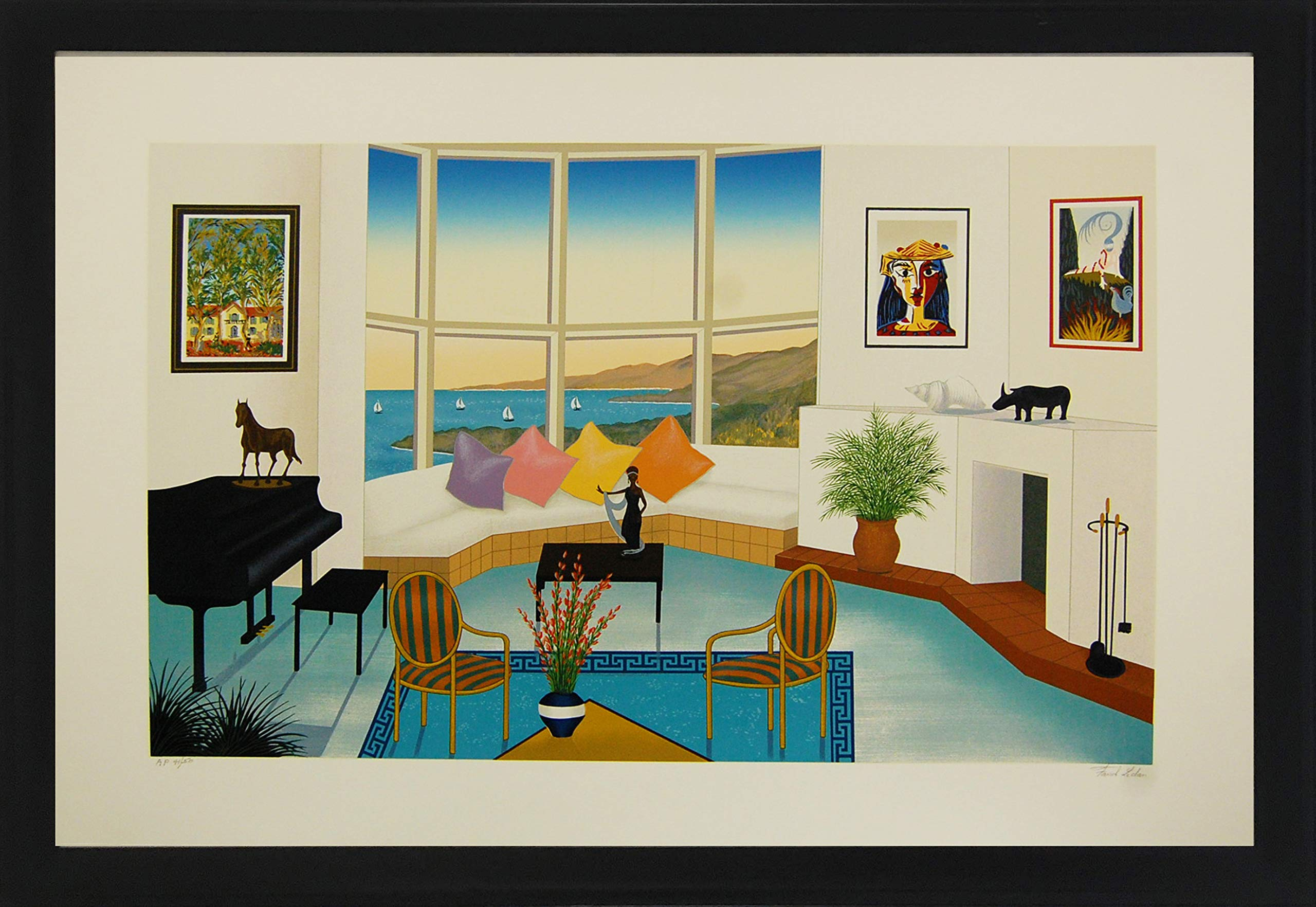 Interior with Picasso by