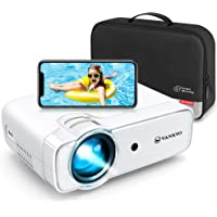 VANKYO 2020 Upgraded Leisure 430W Mini Wi-Fi Projector, Full HD 1080P Supported Projector with Synchronize Smart Phone…