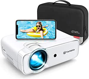 VANKYO 2020 Upgraded Leisure 430W Mini Wi-Fi Projector, Full HD 1080P Supported Projector with Synchronize Smart Phone Screen, Video Portable Projector Compatible with iOS/Android Devices, Windows