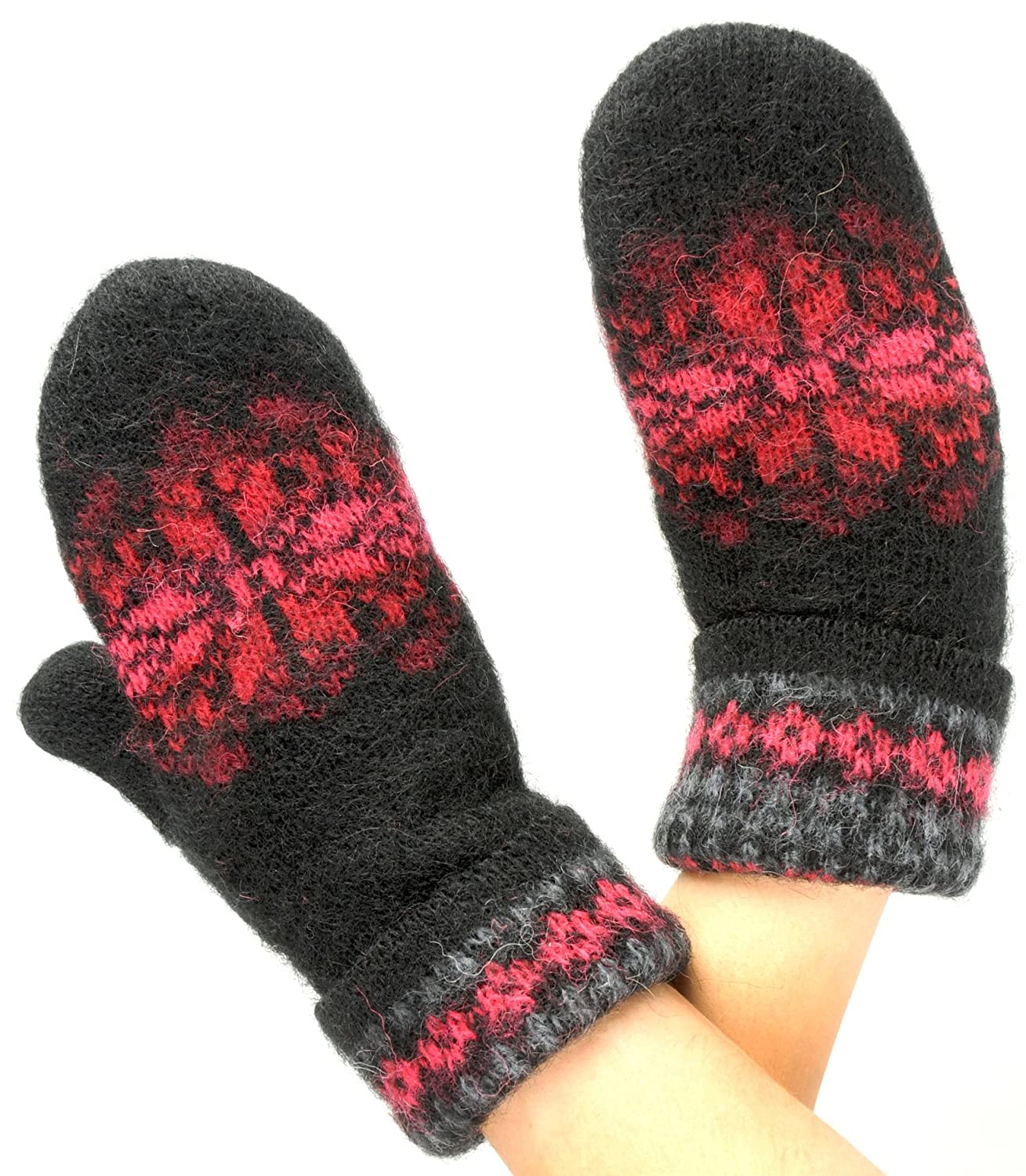 Soft and Warm Mittens. 100 % Icelandic Wool 08402-09