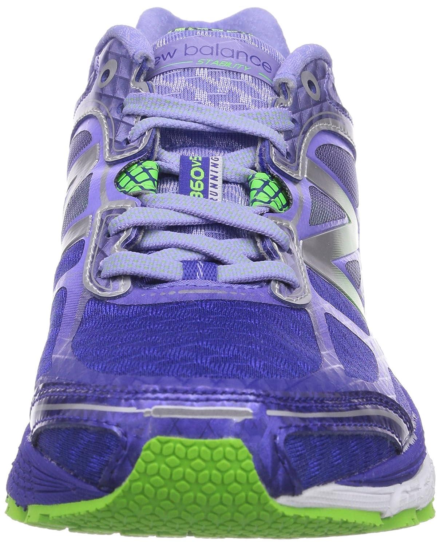 New Balance W860 B V5, Chaussures de running femme - Multicolore - Mehrfarbig (PP5 PURPLE/GREEN), 37.5 EU