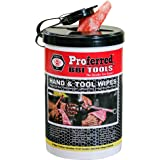PROFERRED Hand and Tool Wipes, Heavy Duty Tool Cleaning Wipes, Hand Cleaning Wipes, Degreasing, Waterless Hand Cleaner…
