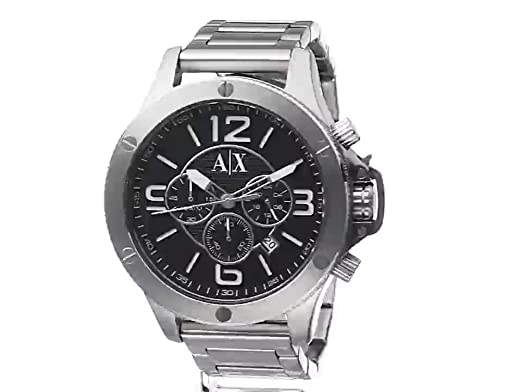Amazon.com: Armani Exchange Mens AX1501 Silver Watch: Armani Exchange: Watches