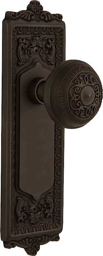 Nostalgic Warehouse Egg Dart Plate With Egg Dart Knob Privacy Oil Rubbed Bronze Doorknobs Amazon Com