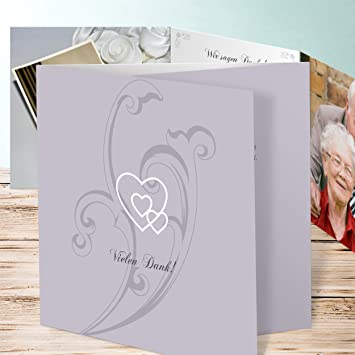 Danksagungen Goldene Hochzeit Liebesbrief 25 Karten