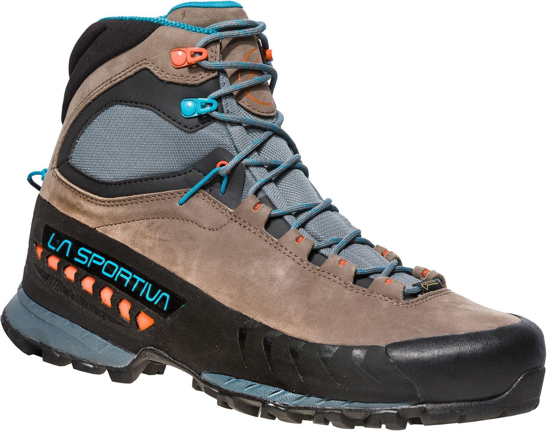 La Sportiva Tx5 GTX, Zapatillas de Senderismo para Hombre 42.5 EU Multicolor (Falcon Brown / Tropic Blue 000)