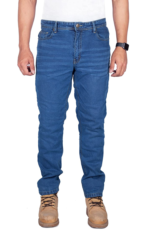 36W X 30L HB Pantalon Moto Jeans Kevlar Pantalons de moto pour hommes