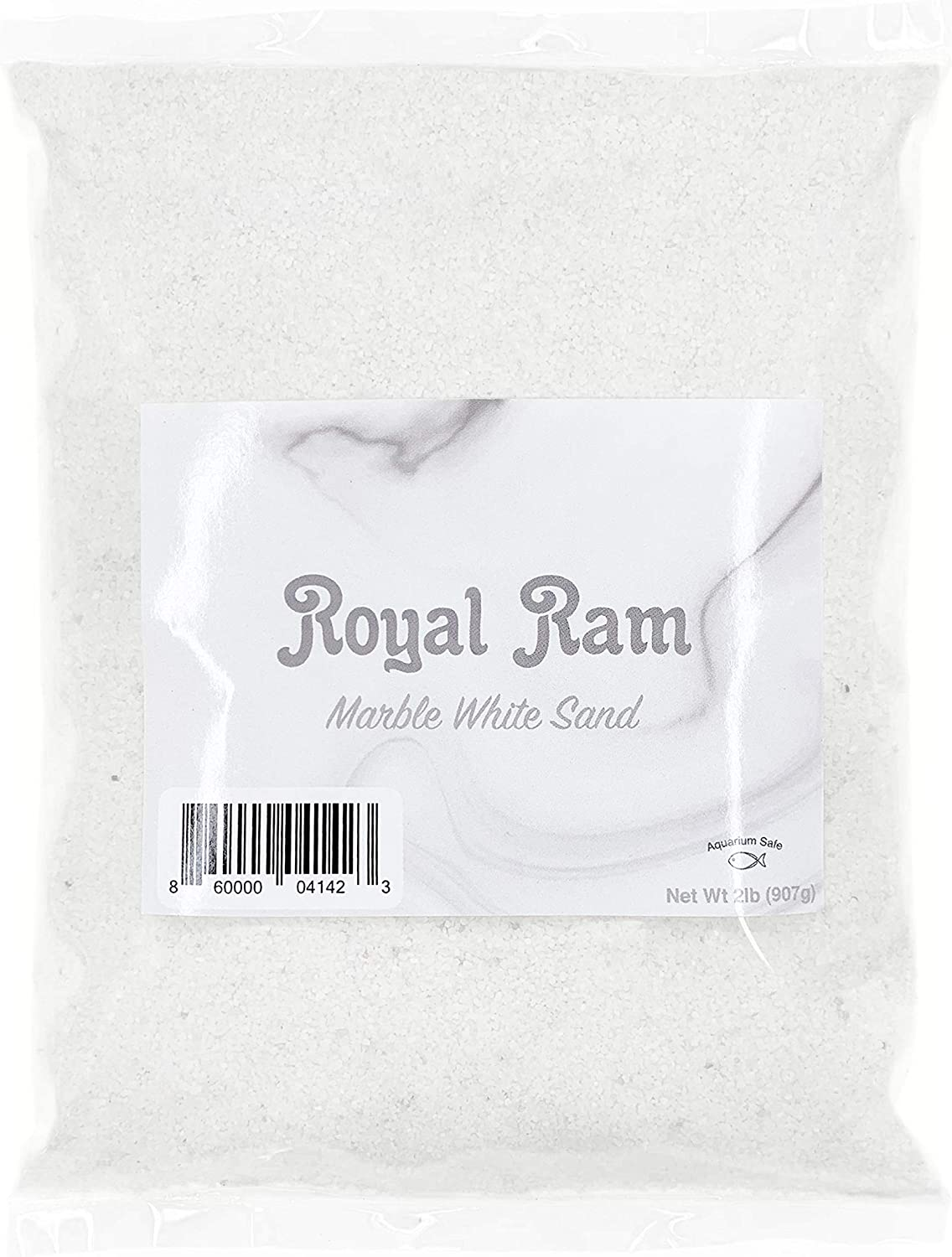 Royal Ram 2 pounds Natural White Marble Decorative Real Sand