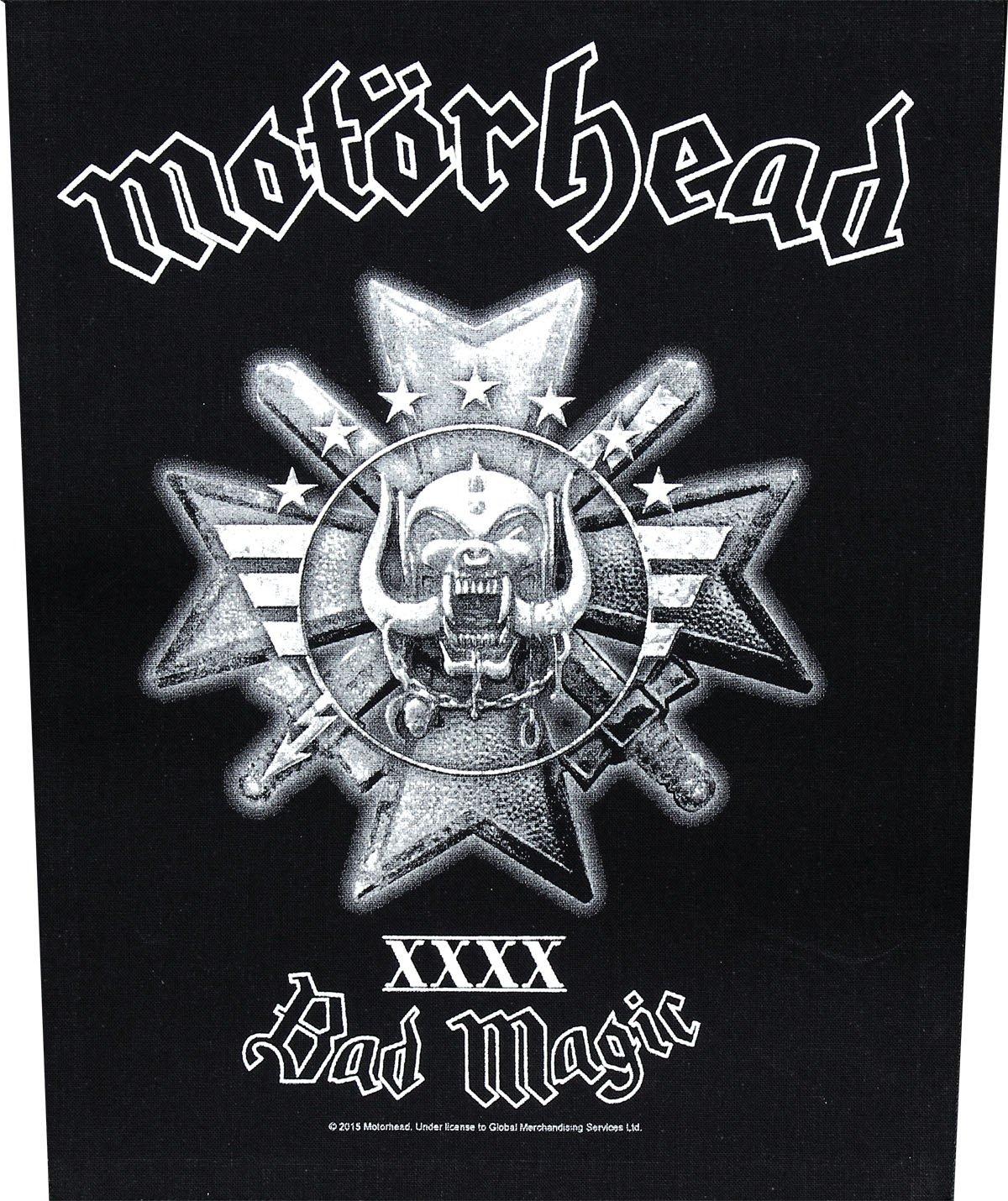 Patch MOTÖRHEAD Backpatch BAD MAGIC indietro Motörhead