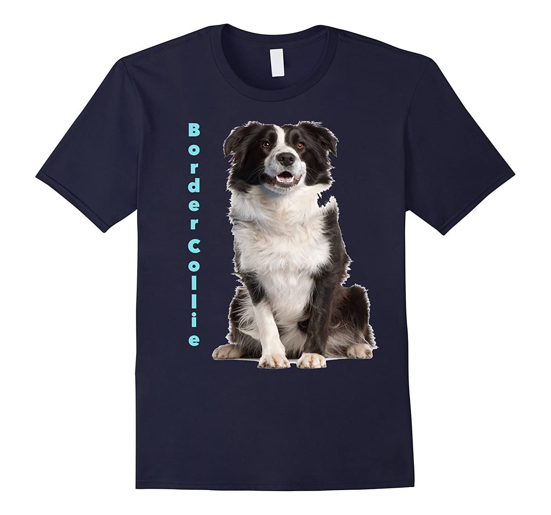 Border Collie on a Tee Shirt-RT
