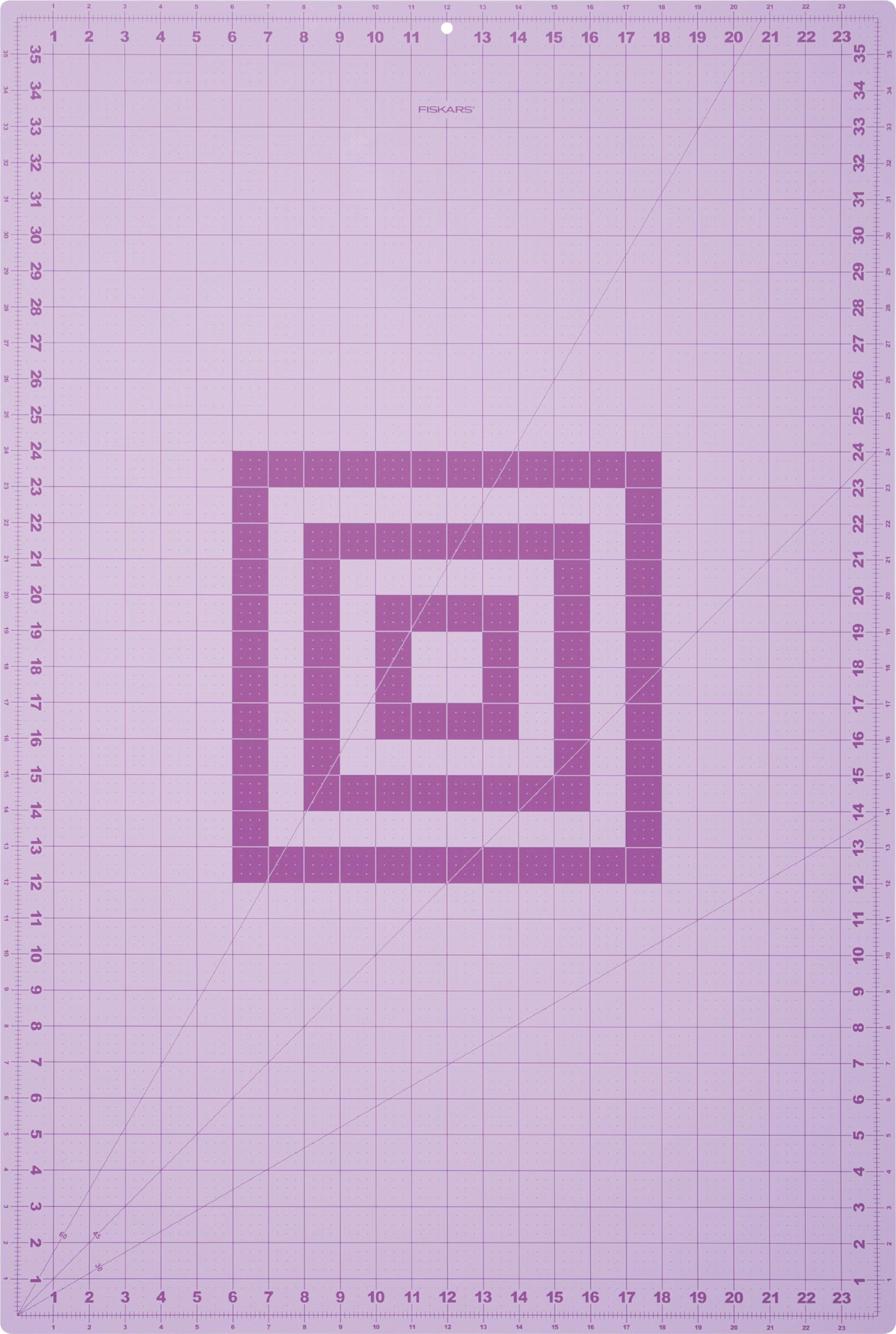 Fiskars 183720-1002 Fashion Cutting Mat, 24 by 36-Inch (Colors may vary) by Fiskars