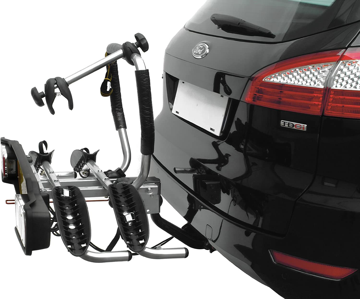 Peruzzo Siena Fixed Rack for 2 Bicycles on Trailer Coupling