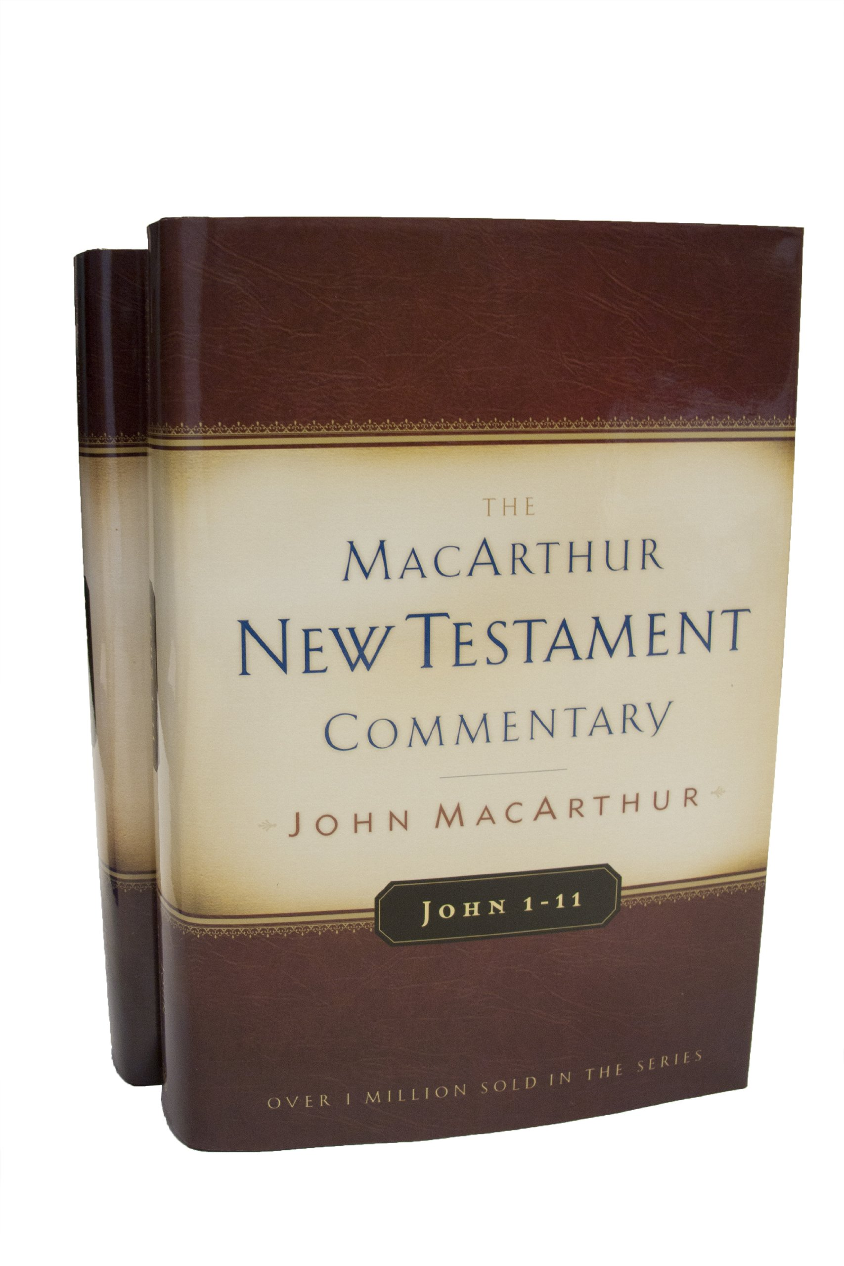 John Volumes 1 & 2 MacArthur New Testament Commentary Set (MacArthur New  Testament Commentary Series): John F. MacArthur Jr.: 9780802408488:  Amazon.com: ...