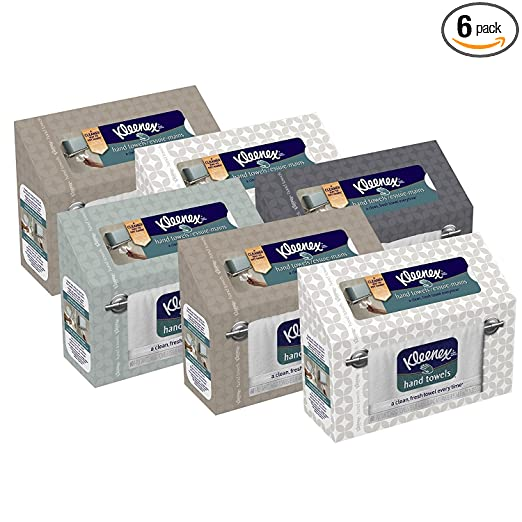Kleenex Hand Towels, 60 ct,(Pack of 6)