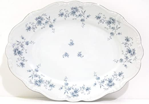 "5 1//8/"" x 1 1//8/"" EXCELLENT Johann Haviland BLUE GARLAND Fruit or Dessert Bowl s"
