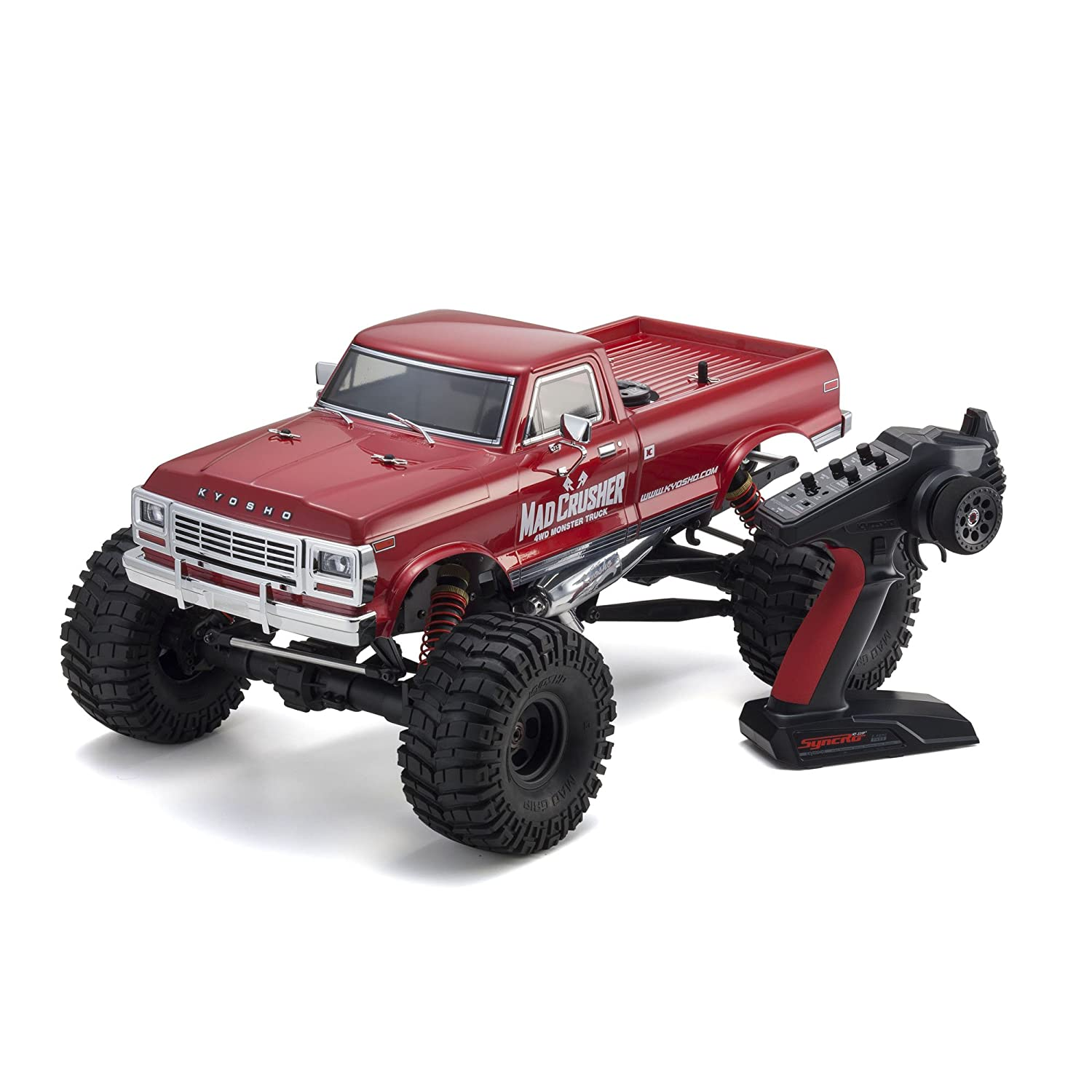 Kyosho Mad Crusher GP 4WD Nitro Powered RC Truck