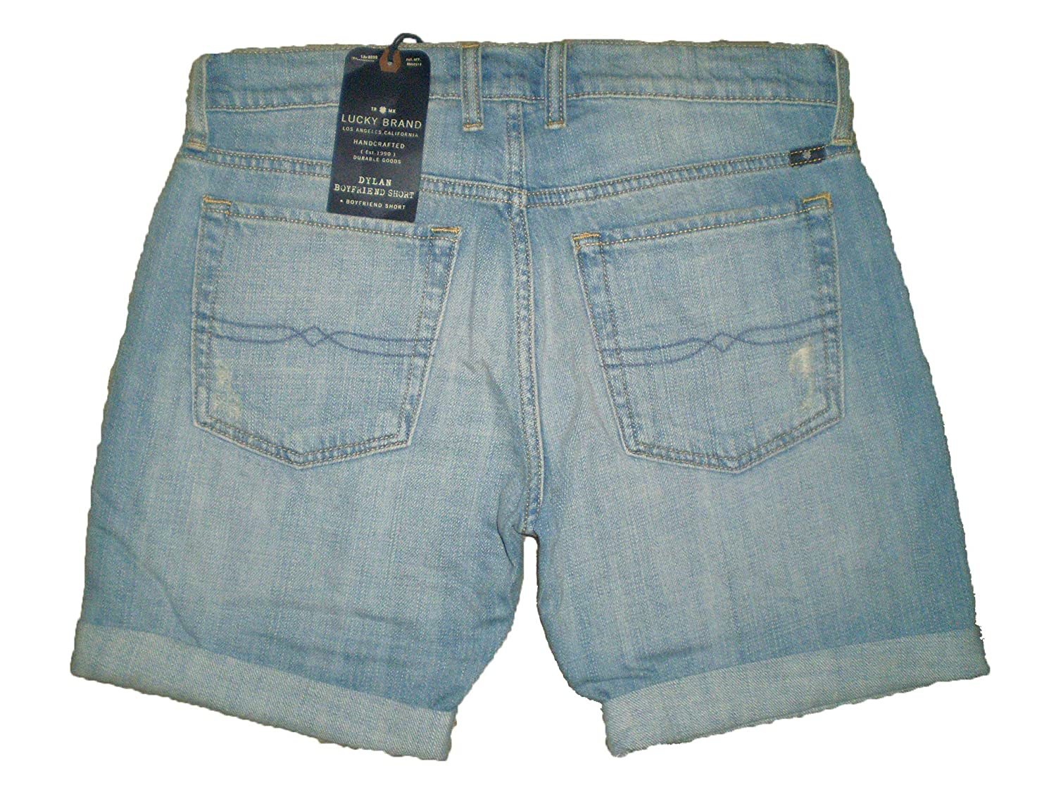 011544619bb Lucky Brand Dylan Boyfriend Cut Off Denim Distressed Jean Shorts Womens New  $79 (00) at Amazon Women's Clothing store: