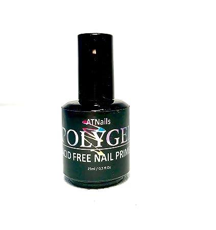 PolyGel - Imprimador de uñas profesional de ácido – Gel UV y uñas acrílicas