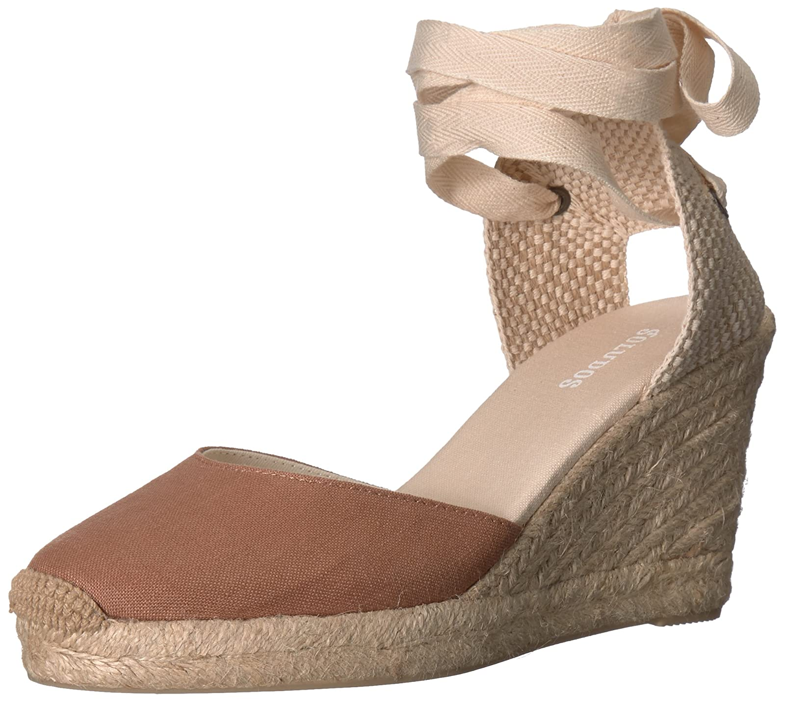 d36d7a44c0b Soludos Women's Tall (90mm) Wedge Sandal Tall Wedge (90mm)