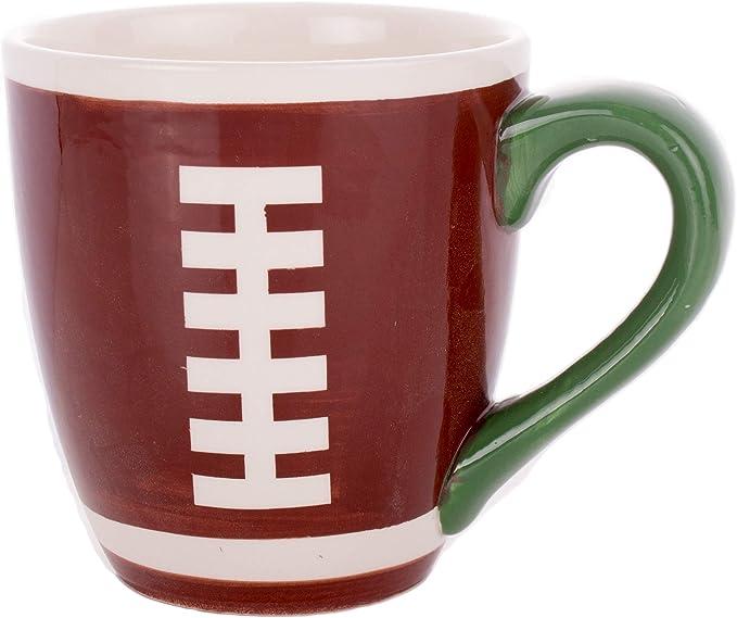 Ceramic Football Coffee Mug
