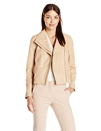 97adf84a65286 Cole Haan Women s Leather Moto Jacket