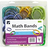 """American Educational Products SR-MB-ELEM Math Bands - Elementary Small Group Set Activity Set, 2"""" Height, 8"""" Wide, 8"""" Length"""