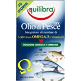 Equilibra - Olio di Pesce 1000, 60 Perle Vegicaps
