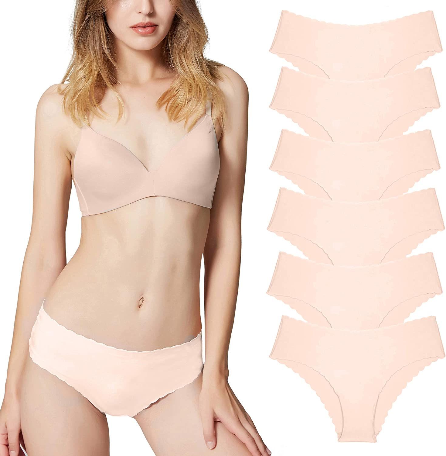 L /& XL Barely There Hipster Microfiber Bikinis 3 Pack SIZES M