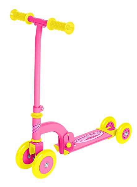 Amazon.com: Ozbozz Mi primer patinete, color rosa: Toys & Games