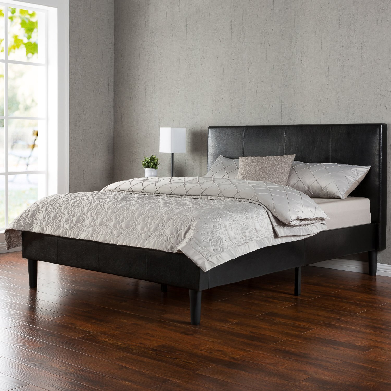 Zinus platform beds sale ease bedding with style Wood platform bed