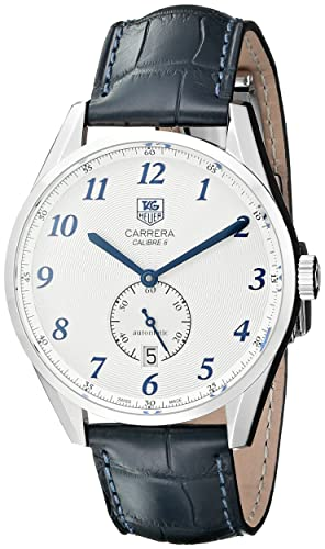 Reloj Tag Heuer Carrera Calibre 6 Heritage WAS2111.FC6293: Amazon.es: Relojes