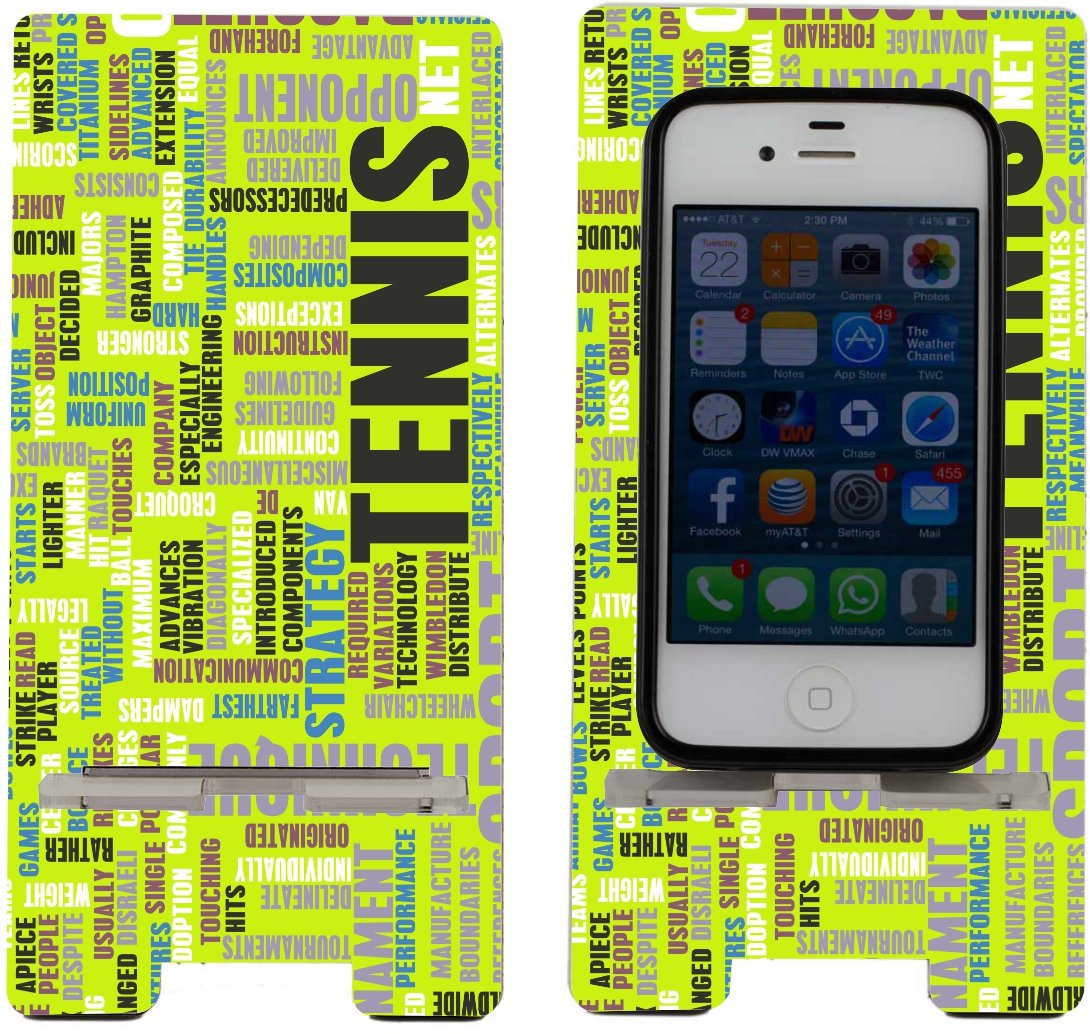 Rikki Knight Tennis Word Square Design Smart Cell Amazon