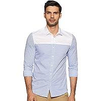 Lee X-Line Men's Striped Slim fit Casual Shirt