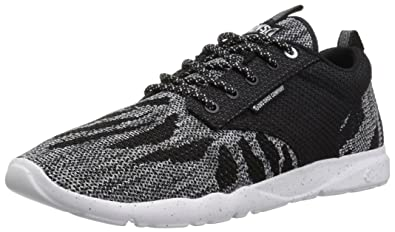 DVS Shoes Premier +, Zapatillas para Hombre, Schwarz (Black White Knit), 45 EU