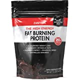 Zantrex High Energy Fat Burning Protein, Triple Chocolate Fudge, 22 Ounces