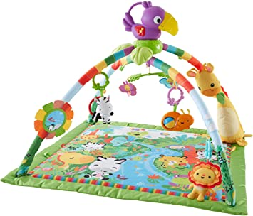 fisher-price music & lights deluxe gym: amazon.it: prima infanzia - Cucina Fisher Price