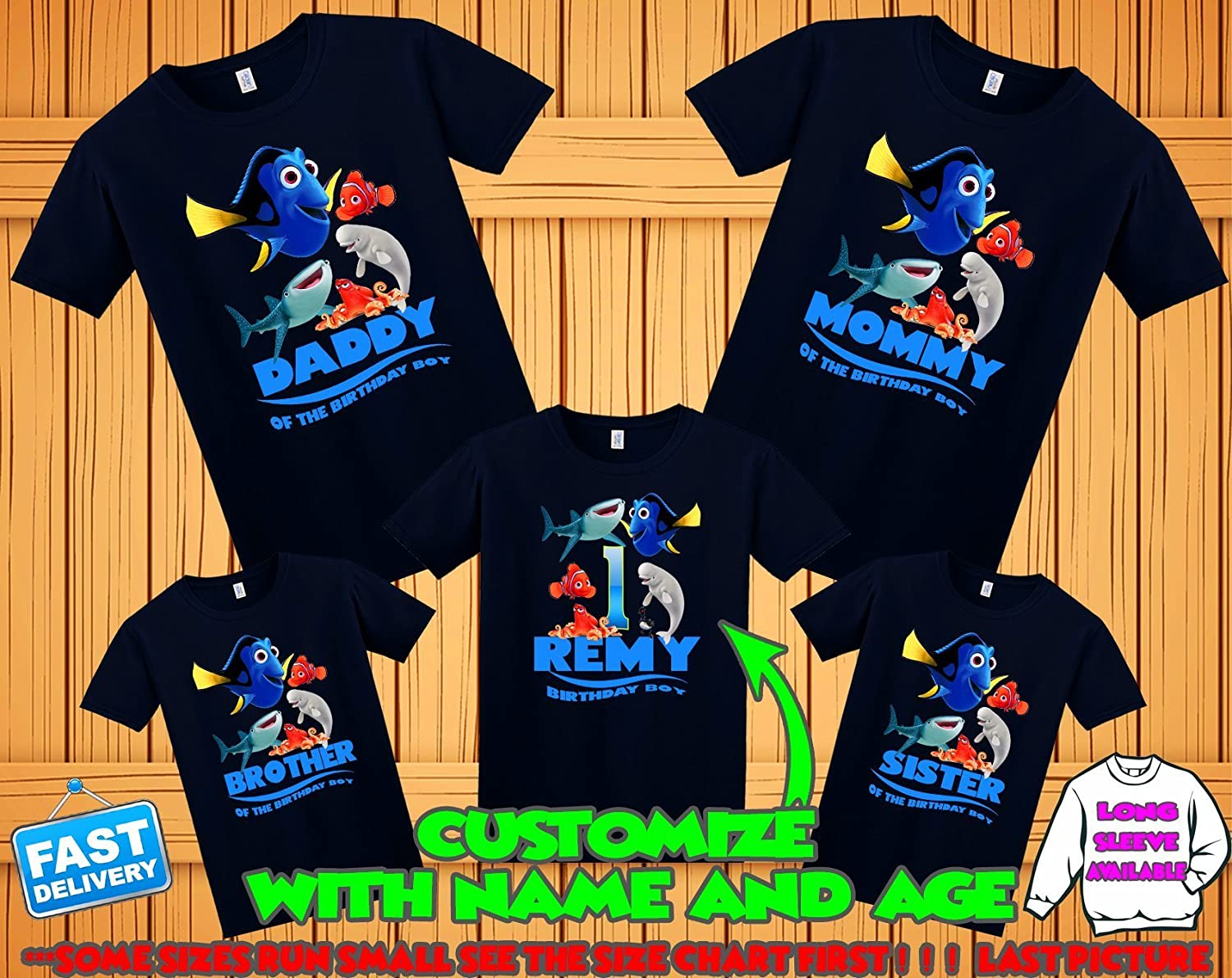 Finding Dory Birthday Shirt Family Shirts Theme Party