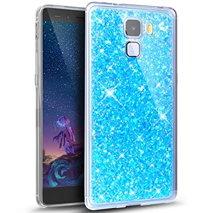 coque huawei honor 7x paillettes
