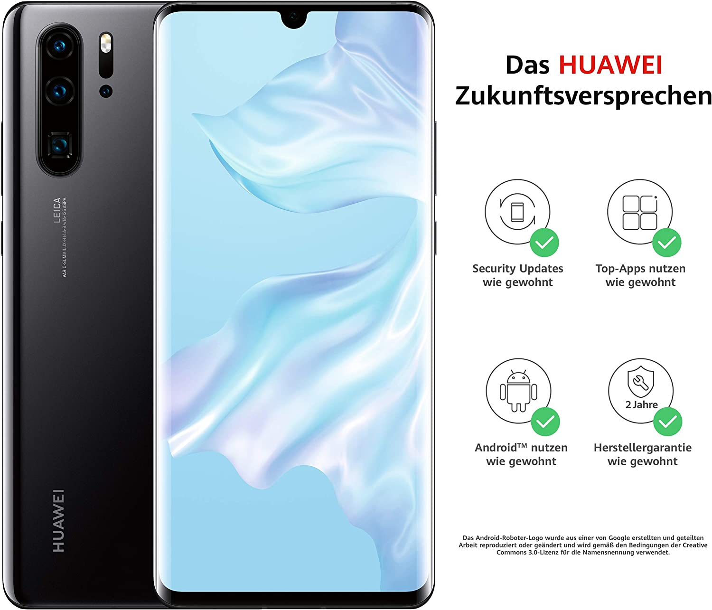 Huawei P30 Pro - Smartphone (Dual SIM, 256 GB), color negro ...