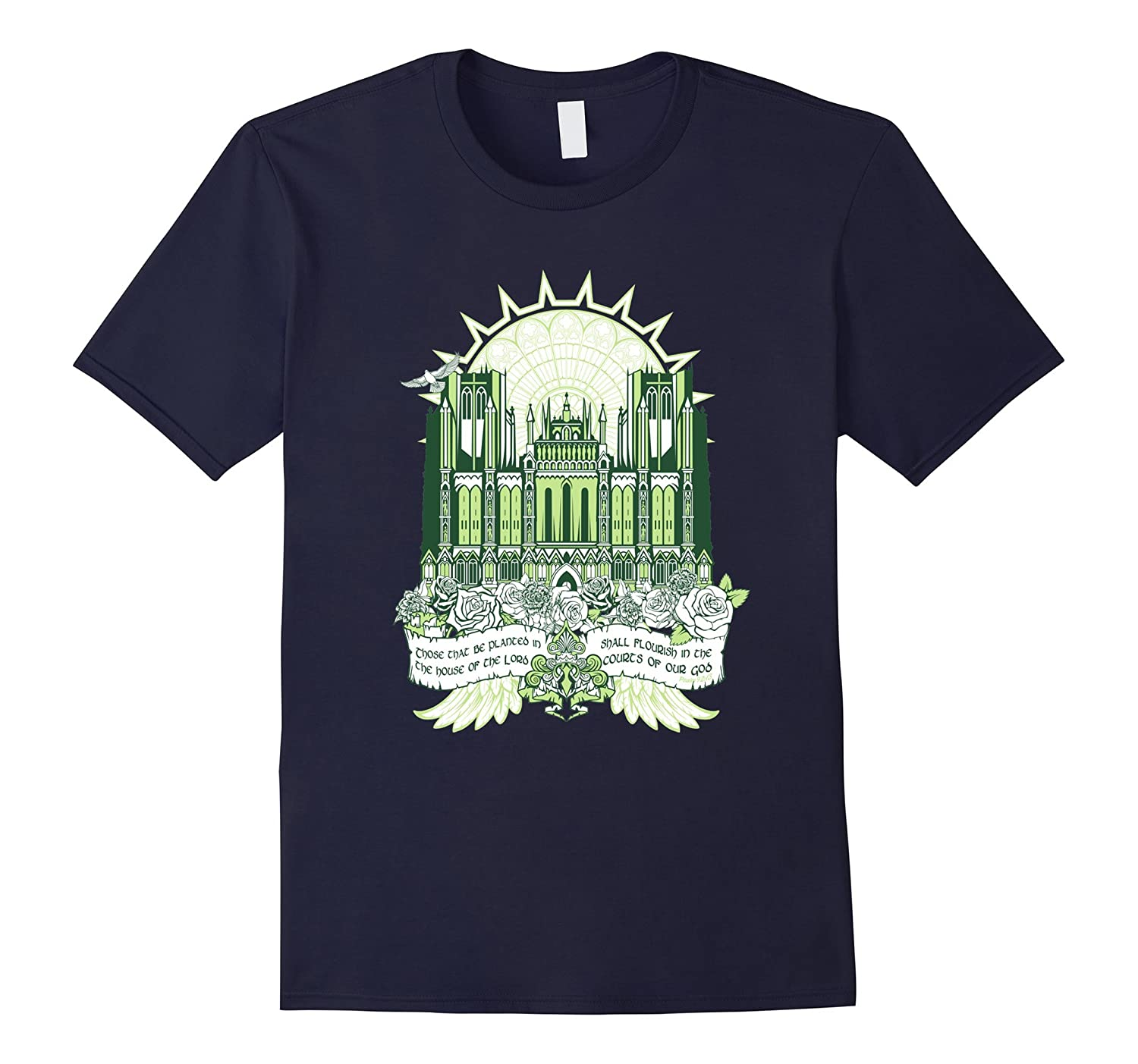 Courts Of Our God T Shirts For Women Graphic Tee For Men-Art