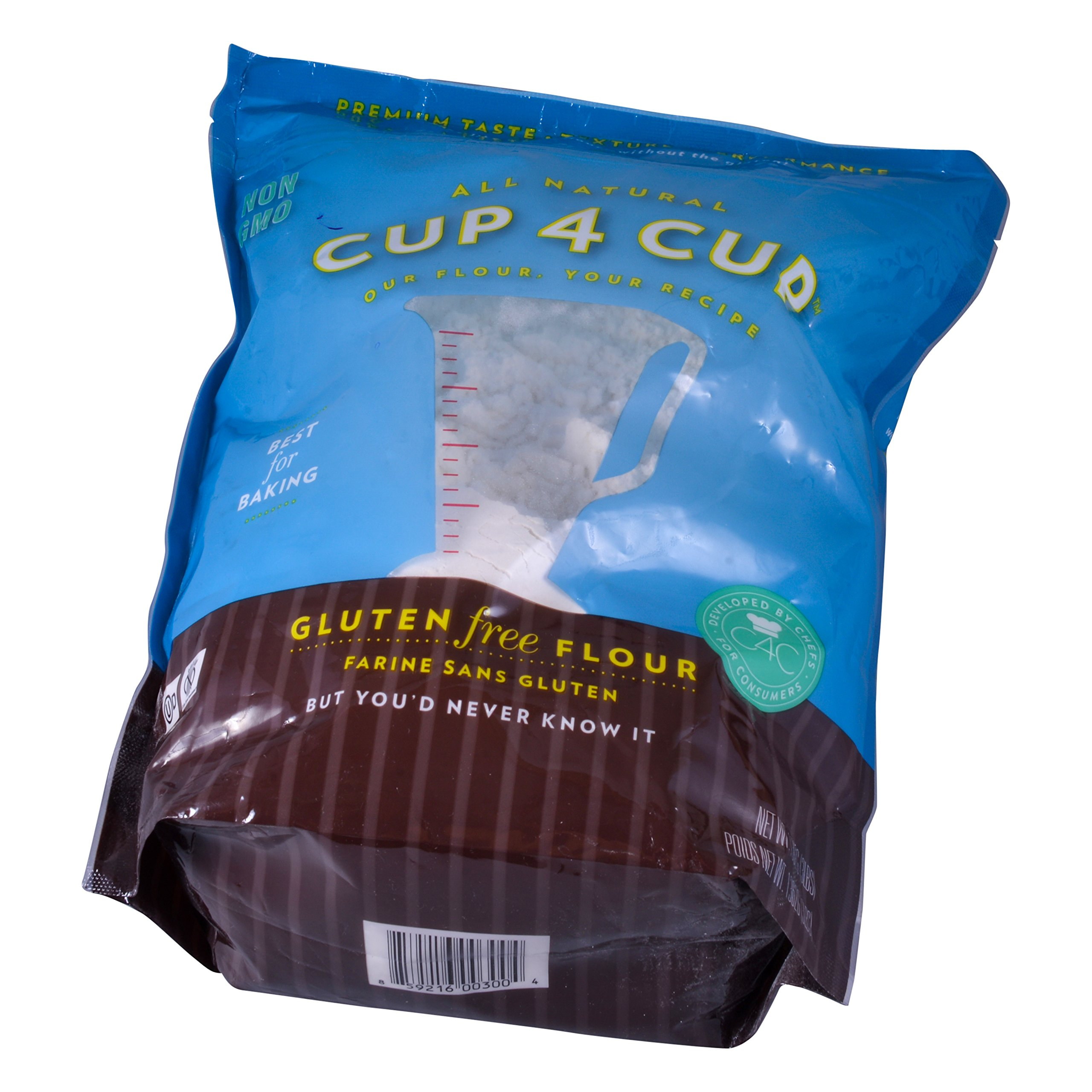 Cup4Cup Gluten Free Flour, 6 Pound (6 Pound)