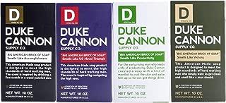 product image for Duke Cannon Supply Co. - Big American Brick of Soap Variety Gift Set (4 Pack of 10 oz) Superior Grade Bar Soap Bundle Designed for Hardworking Men