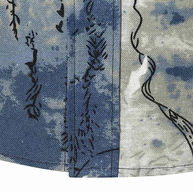YanHoo Blusa Superior de la Camisa de Manga Larga Delgada Ocasional del Verano de los Hombres de la Personalidad Nuevo Algodón Moda Casual: Amazon.es: Ropa ...