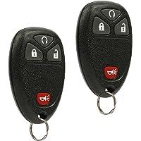 Car Key Fob Keyless Entry Remote fits Chevy Silverado Traverse Equinox Avalanche/GMC Sierra/Pontiac Torrent/Saturn…