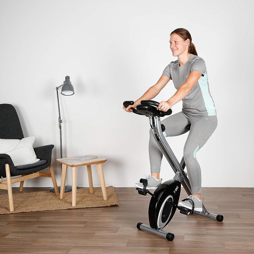 Ultrasport Bicicletas Estáticas Plegables F-Bike Advanced estática LCD Hometrainer, Unisex