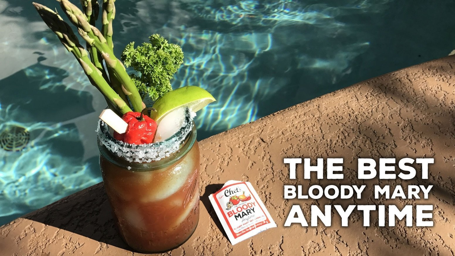 Chet's Bloody Mary Seasoning Mix (12 Packets)