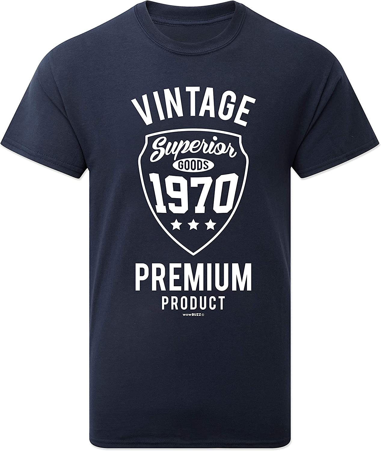 Personalised Made in 1969 Vintage Ladies T-Shirt Born 1969 Birthday Age Year