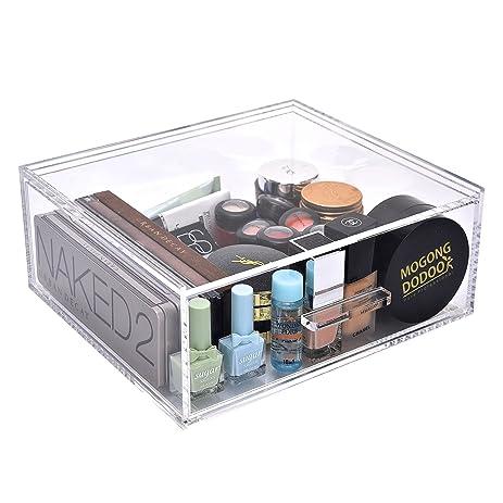 Amazoncom StorageWorks Acrylic Organizer Jewelry Boxes Cosmetic
